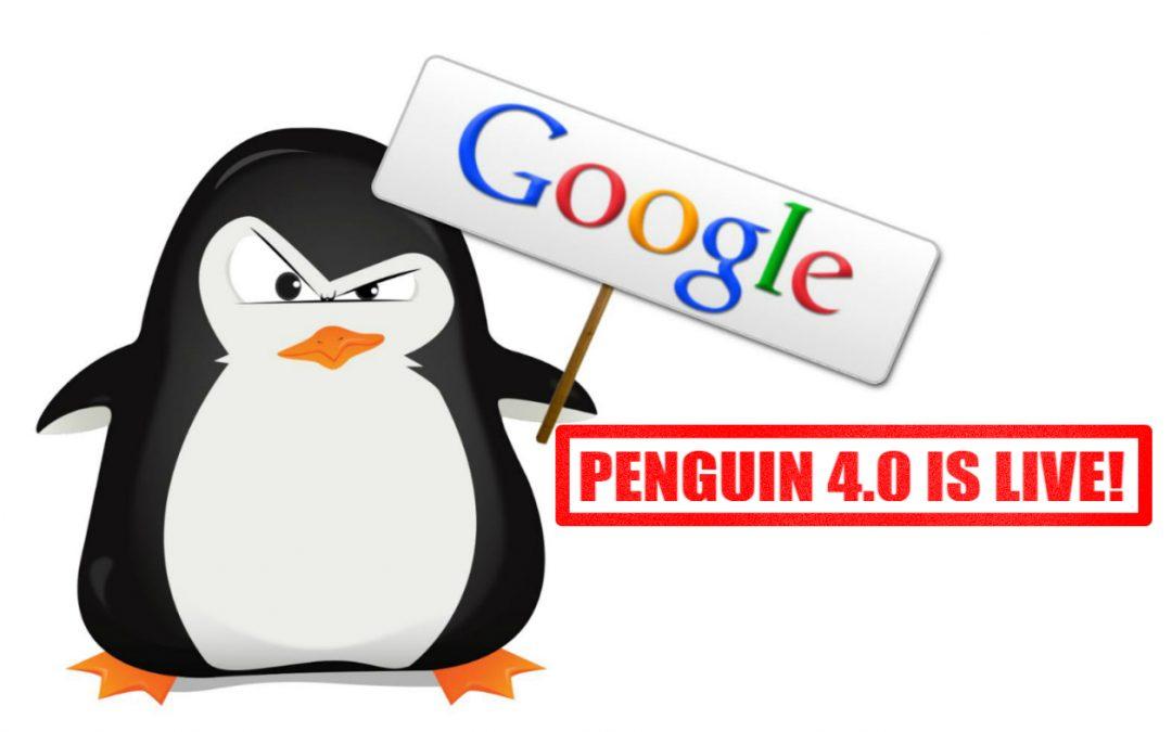 Google Penguin 4.0 is live and part of Google's Core Algorithm